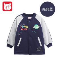 【2件6折】小猪班纳童装宝宝婴儿棉衣外套冬装2018棉袄男童棉服