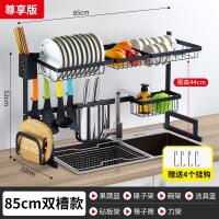 不锈钢厨房置物架晾碗水槽架放碗碟沥水架厨具用品收纳架水池架子