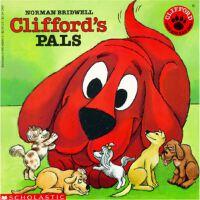 英文原版 大红狗 儿童绘本 Clifford's Pals [平装] [Jan 01, 1992] Norman,Cl