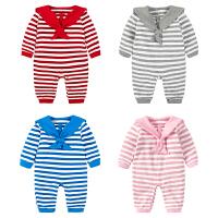 婴儿连体衣服新生儿宝宝0岁6个月可爱季7装冬季冬装睡衣