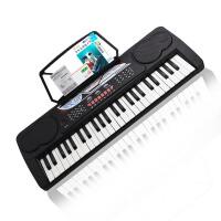 电子琴美科MEIKE电子琴49键MK-4100多功能早教成人儿童初学者电子琴 送话筒教材