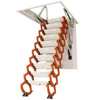 恒升阁楼伸缩楼梯家用折叠升降隐形室内复式定做隔层收缩自动拉伸