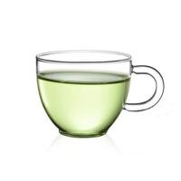 四只装耐热玻璃茶杯子 红茶杯 功夫茶具约办公室耐热透明泡茶杯小品杯