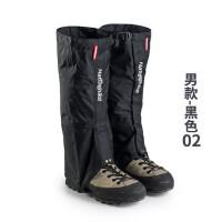户外登山雪套防水男沙漠装备徒步防沙鞋套女滑雪护腿套脚套