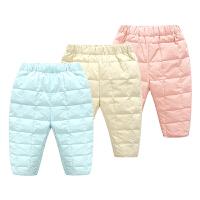 加厚冬装婴儿棉裤子6装冬季0宝宝保暖3个月大pp裤卫裤1岁
