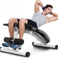 仰卧体做 5CM折叠哑铃凳卧推 仰卧起坐健身器材家用仰卧板 CX 豪华版 5CM钢管燃脂、收腹【健身房高品质】:白色