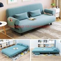 可折叠懒人沙发床小户型客厅单人双人沙发折叠两用多功能布艺沙发