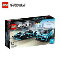 LEGO乐高积木 超级赛车系列 76898 捷豹赛车 玩具礼物