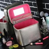 化妆包大容量多功能化妆箱手提简约便携韩式小号可爱洗漱品收纳盒