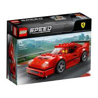 LEGO乐高积木 超级赛车系列 75890 法拉利F40 Competizione 玩具礼物