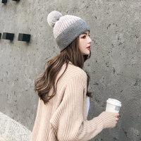帽子女韩版潮时尚百搭毛线帽学生户外保暖针织帽女士潮帽