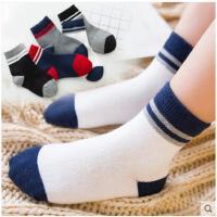 儿童袜子纯棉男童女童宝宝小孩中筒袜秋冬1-3-5-7-9-10-12岁棉袜