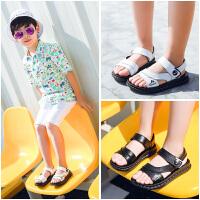 男童凉鞋夏季中大童小孩宝宝男孩儿童沙滩鞋