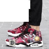 冬季男鞋运动鞋男士休闲鞋韩版潮流百搭跑步男生高帮鞋气垫鞋潮鞋