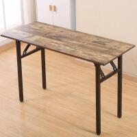 折叠桌子餐桌家用会议桌培训桌简易摆摊办公桌电脑长条方桌美甲桌