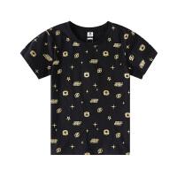 小猪班纳童装儿童短袖t恤男童2020夏季新款打底衫中大童纯棉上衣