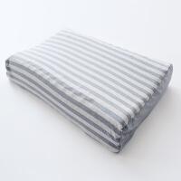 护颈枕头 (款)乳胶枕头泰国天然进口橡胶枕颈椎枕平面曲线波浪 波浪枕57x40x11x8cm平面曲线
