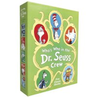 Who's Who in the Dr.Seuss Crew戴高帽的猫(五本书精装套装)ISBN97803853762