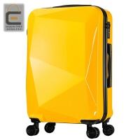 钻石切割面拉杆箱行李箱万向轮旅行箱密码箱男女20寸24寸28寸