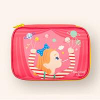化妆包可爱小号便携韩国简约大容量卡通少女心多功能收纳包小方包