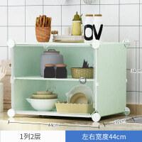 【新品特惠】厨房置物架多层调味品放碗盘子架多功能免打孔落地式蔬菜收纳架子