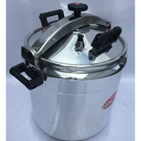 44cm/70L防爆高压锅电磁炉通用 大容量商用复合底压盖式压力锅