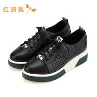 红蜻蜓女鞋休闲鞋百搭女鞋学生小白鞋舒适春秋季平底板鞋