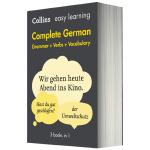 英德双语字典词典 柯林斯轻松学德语全书 英文原版 Collins Easy Learning GermanDictio
