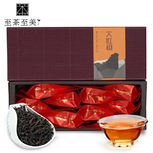至茶至美 大红袍 武夷山特级岩茶茶叶 武夷乌龙茶 80g 武夷岩茶茶叶 包邮