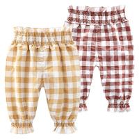 女童婴儿裤子新款女宝宝打底裤3-7-5个月韩版儿童装春秋装