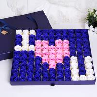 【满99减50】物有物语 香皂花 创意礼品99朵仿真玫瑰花束香皂花礼盒
