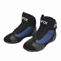 MOTORCYCLE BOOTS 红色男公路摩托车赛车靴骑士机车靴