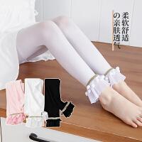 女童打底裤夏季薄款外穿宝宝连体袜子儿童连裤袜