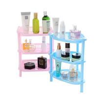 浴室置物架 方形浴室卫生间架子塑料浴室收纳架三角形置物架厨房储物架