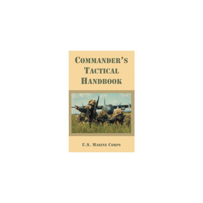 【预订】Commander's Tactical Handbook 预订商品,需要1-3个月发货,非质量问题不接受退换货。