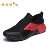 红蜻蜓男鞋春秋新款简约套脚轻便防滑时尚一脚蹬舒适潮流男鞋