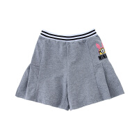 【2件5.5折价:71】小猪班纳女童裤裙小女孩短裤卡通印花中大童纯棉