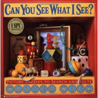 Can You See What I See?:Picture Puzzles to Search and Solve
