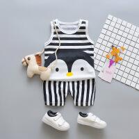 2018新款男童洋�獗承奶籽b��������r尚衣服小童��和�夏�b1潮3�q