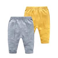 女童婴儿裤子新款女宝宝打底裤3-7-6个月韩版儿童装春秋装