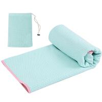 瑜伽铺巾 防滑加厚宽带收纳包TPE定位轻细纤维吸汗瑜伽健身毯子