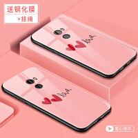 小米mix2手机套 小米 MIX2S保护壳 小米mix2/mix2s手机外壳 个性创意硅胶软边彩绘卡通钢化玻璃保护套潮