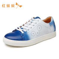 红蜻蜓男鞋秋季新款功能鞋圆头休闲运动潮流低跟男单鞋板鞋