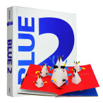 顺丰发货 英文原版进口立体书 Blue 2 A Pop-up Book for Children of All Age