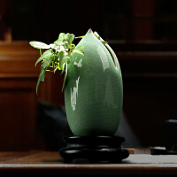 家居装饰摆件花瓶陶瓷餐桌摆件客厅插花创意花器新中式水培小花瓶