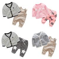 婴儿衣服装0岁6个月2宝宝上衣5新生儿休闲潮款外套季冬装
