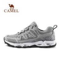 camel骆驼户外女款徒步鞋 防滑耐磨舒适低帮越野女徒步鞋
