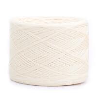 一斤装本白无漂染40支棉纱线棉线宝宝婴儿毛线diy编织 本白色