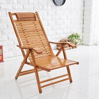 竹椅夏天躺椅折叠午休家用午睡阳台沙滩休闲老人懒人靠背椅子凉椅