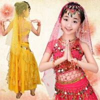 六一儿童肚皮舞套装演出服 少儿印度舞服装 2018新款女童舞蹈服
